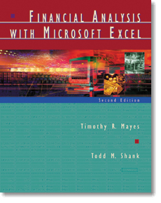 financial analysis with microsoft excel mayes shank pdf