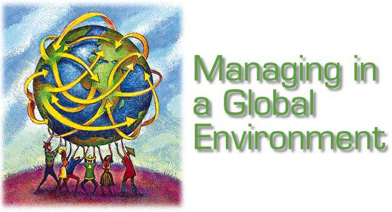 managing during all the worldwide environment