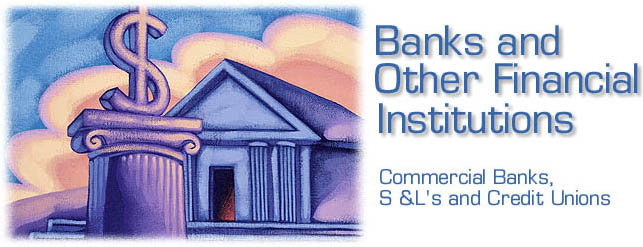 definition of banks and financial institutions